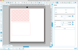Draw your rectangle, and make sure to manually input your dimensions.
